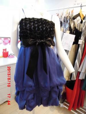 色違いドレス(コバルトブルー)