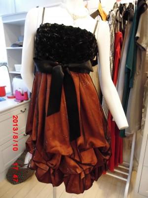 色違いドレス(オレンジ)